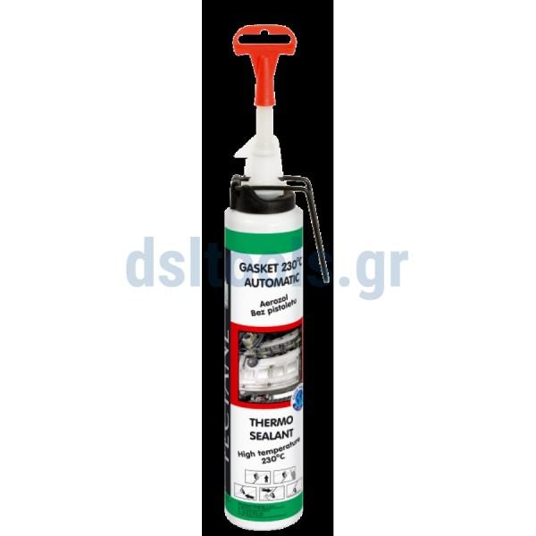 Φλατζόκολλα υψηλής θερμοκρασίας Κόκκινη 230oC, 200ml, GASKET SEALANT