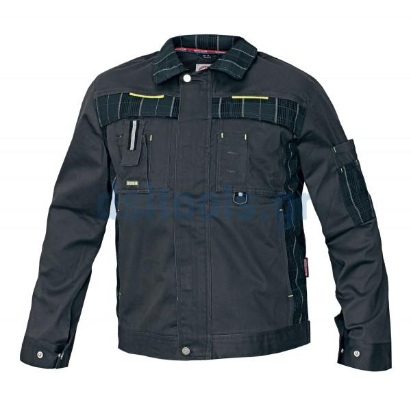 Jacket εργασίας βαμβακερό γκρι