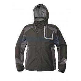 Μπουφάν αντιανεμικό αδιάβροχο μαύρο XL