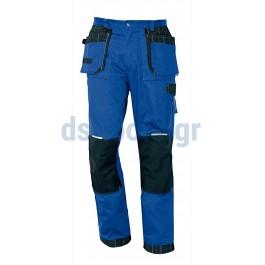 Παντελόνι εργασίας βαμβακερό μπλε