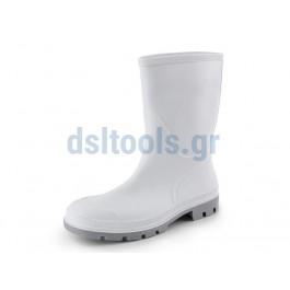 Μπότες τροφίμων, No41 κνήμης, λευκές